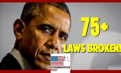 Hey Democrats… Obama Broke 78 Laws As President… Here's The List