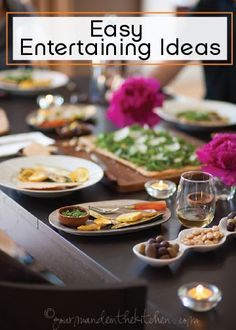 Throwing a dinner party? Try some of these stylish and easy entertaining ideas, from table décor to menu planning. Your guests will be thoroughly impressed by your hosting skills!