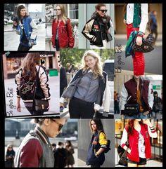 tendencia chaquetas universitarias