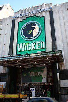 Wicked- Apollo Victoria Theatre