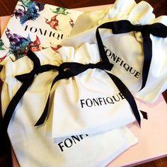 Fonfique packages - ready to dispatch - get yours on www.fonfique.com