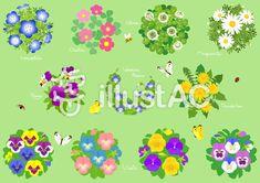 春の花素材1 Symbols, Glyphs, Icons