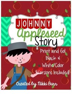 This adorable story will take your students through the fascinating journey of Johnny Appleseed. From his early years in Massachusetts, to Indiana where his traveling came to an end, your students will learn to love this kind hearted and compassionate man.