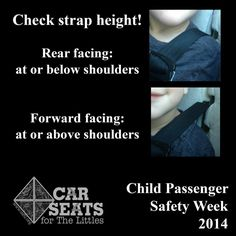 Don't forget to place the harness correctly!   www.csftl.org  #MyWhy #TheRightSeat #CPSWeek
