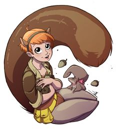 The Unbeatable Squirrel Girl by JuliaMadrigal