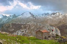 Macizo Central de Picos de Europa desde la majada de Ondón