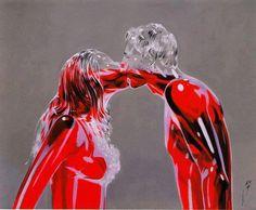 "Photo ""colored kiss ........."""