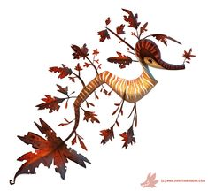 These Stunning Illustrated Sea Dragons Are Part Fish and Part Tree