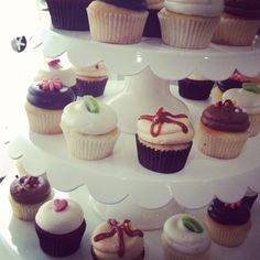 Mini cupcakes by Georgetown Cupcake