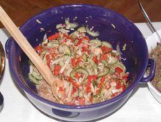 Obec Nekoř: RECEPTY podzimních salátů Grains, Rice, Meat, Chicken, Food, Essen, Meals, Seeds, Yemek