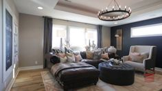 Vintage Modern Home  Interior Design by Falcone Hybner Design Inc