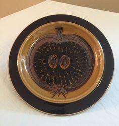 Arabia Fructus Plate / Gunvor Olin-Gronqvist 1960s / Sandwich Salad Dessert Plate by ModernaireMCMStudios on Etsy