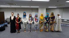 New Abaya Design by Japanese Designer