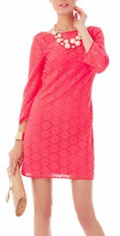 Pretty lace tunic dress