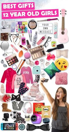 Tons of great gift ideas for 12 year old girls. - - Tons of great gift ideas for 12 year old girls. Tons of great gift ideas for 12 year old girls.-- without result -->Related Post Baby Registry 101 Cool Gifts For Teens, Christmas Gifts For Teen Girls, Best Gifts For Girls, Tween Girl Gifts, Birthday Gifts For Teens, Diy Birthday, Kids Gifts, Gifts For Tweens, 12 Year Old Christmas Gifts