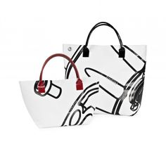 Shopper # Referenz Line Line, Bags, Fashion, Repurpose, Handbags, Moda, Fishing Line, Fashion Styles, Fashion Illustrations