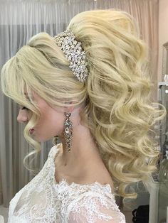 Gallery: Long wedding hairstyles and wedding updos from Websalon Weddings - Deer Pearl Flowers / http://www.deerpearlflowers.com/wedding-hairstyle-inspiration/llong-wedding-hairstyles-and-wedding-updos-from-websalon-weddings-17/