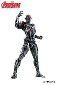 Ultron MARVEL Avengers: Age of Ultron #galacticink #premiumtemporarytattoo #ultron #avengers #ageofultron