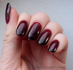 20 Burgundy Nail Designs - Fashion Diva Design