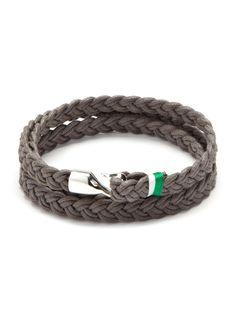 Miansai men's knotted bracelet #fashion