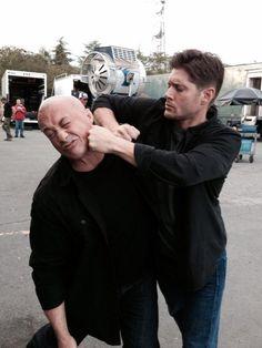 Supernatural behind the scenes, season 10