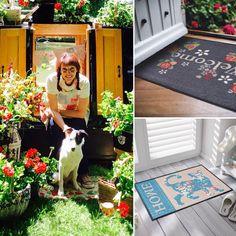"""Gefällt 36 Mal, 1 Kommentare - by Kleen-Tex (@wash_and_dry_floorfashion) auf Instagram: """"Wir möchten Euch unsere bezaubernde Lizenzpartnerin aus 🇬🇧 Julie Dodsworth vorstellen -…"""" Terrace Garden, Kids Rugs, Animals, Instagram, Home Decor, Animales, Decoration Home, Kid Friendly Rugs, Animaux"""