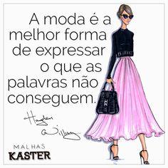 Expresse-se através da moda. #Bomdia