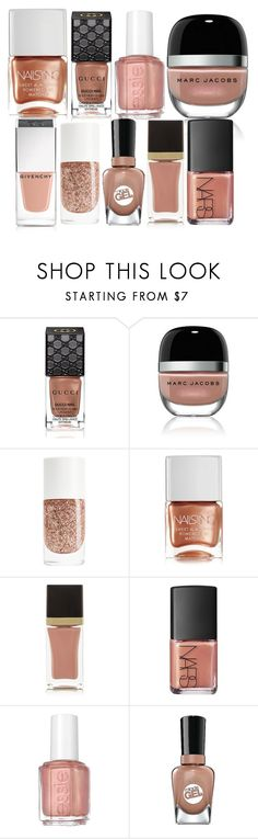 """""""Untitled #552"""" by arianasinger ❤ liked on Polyvore featuring beauty, Gucci, Marc Jacobs, Nails Inc., Tom Ford, NARS Cosmetics, Essie, Sally Hansen and Givenchy"""