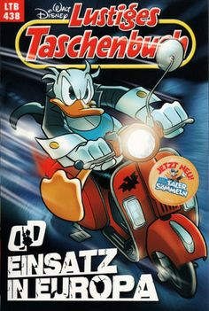 Einsatz in Europa Disney Duck, Walt Disney, Duck Tales, Classic Toys, Comic Covers, All Over The World, Donald Duck, Pop Art, Mickey Mouse