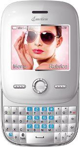 Emotion.  The chic Dual Sim Mobile Phone, with Swarovski.  Emotion: Il nostro Dual Sim estremamente chic grazie agli Swarovski.  http://www.brondi.it/blog/prodotti/emotion-2/