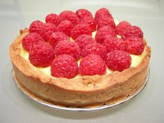 Raspberry Lemon Tart