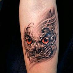 70 Tatuagens de Coruja Impressionantes (fotos lindas!)