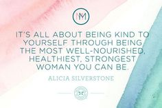 Alicia Silverstone shares some insight for new moms.