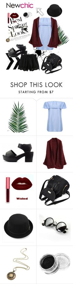 """#Newchic beautiful clothes ❤️❤️"" by irinq ❤ liked on Polyvore featuring Nika, H&M, chic, New and newchic"