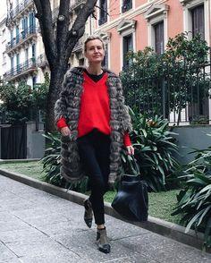 "401 Me gusta, 19 comentarios - Patrizia Casarini (@patzhunter) en Instagram: ""BOX ELDER BUG inspiration !! #mystyle #aninebingboots #redandblack #patio #colorpalette #mood"""
