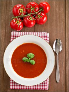 Tomatensuppe - Edith Albuschat