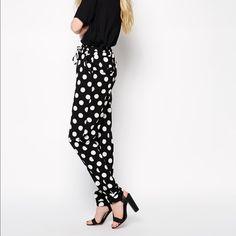Chic polka dots pants Super cool Pants
