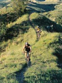 Maah Daah Hey Trail (North Dakota)... on many mountain bikers to-do list, but also sweet for trail running and hiking.