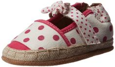 Robeez Fun Dot Espadrille Crib Shoe (Infant/Toddler),White With Pattern,0-6 Months M US Infant Robeez http://www.amazon.com/dp/B00FJ1362Y/ref=cm_sw_r_pi_dp_jd5Eub1JKMAAS