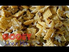 How To Make Gooey Chex Mix Recipe | Snack | Six Sisters Stuff