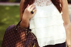 That Louis Vuitton Speedy will be mine one day!