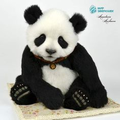 Tai. Panda. By Anastasia Arzhaeva - Bear Pile