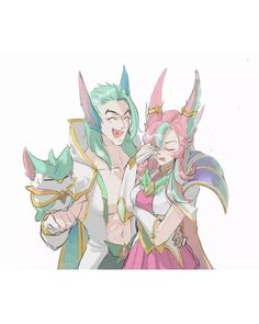 Cherry ✨ — Xayah and Rakan star guardian icons ❤️💚 Lol League Of Legends, Rakan League Of Legends, League Of Legends Yasuo, League Of Legends Characters, Rakan Lol, Ahri Star Guardian, Liga Legend, Overwatch Comic, Drawing Reference
