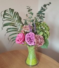 Lovely faux flower arrangements designed by Lucy available at Pozy Posy.