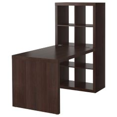 EXPEDIT Agencement bureau - brun-noir - IKEA