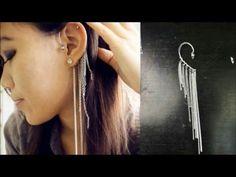 DIY Ear Hook/Ear Wrap - YouTube