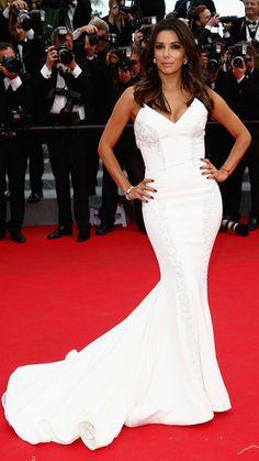 The Best of the 2014 Cannes Film Festival Red Carpet - Eva Longoria from #InStyle Gabriela Cadena