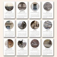 paris bubbles . . . NEUTRAL 2013 mini photo calendar 4x6.
