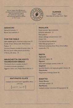 Art of the Menu: Love Supreme Pizza