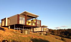 Gallery - Shipping Container Homes, Modular Homes Sea Container Homes, Building A Container Home, Container Buildings, Container Architecture, Container House Plans, Container House Design, Architecture Design, Container Houses, Modular Housing